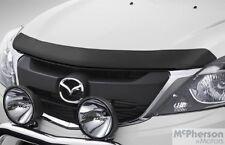 Genuine Mazda BT-50 Headlight & Black Bonnet Protector Combo UP UR Model 2011 On