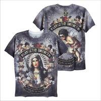 MINUTE MIRTH Maria War Gun Angel Cupid Rock Biker Street Style #M108 Men T-Shirt