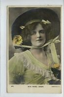 (Lz344-395) Real Photo of Miss Mabel Green 1907 Used VG-EX  Beagles 627 L
