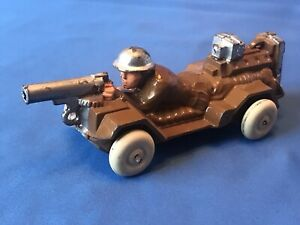 Vintage MANOIL M80 Motorized Machine Gunner in excellent condition