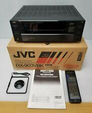 JVC RX-903VBK Digital Surround System Receiver, Black
