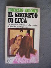 OSCAR MONDADORI #    91 - IGNAZIO SILONE - IL SEGRETO DI LUCA - OTTIMO-SM90