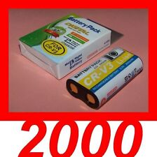 """★★★ """"2000mA"""" BATTERIE Type CRV3/CR-V3 ★★★ Pour Toshiba PDR-3300 / PDR-3320"""