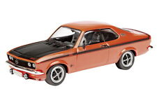 SCHUCO 03444 OPEL MANTA A GT/E model car red black bonnet & side stripe 1:43rd