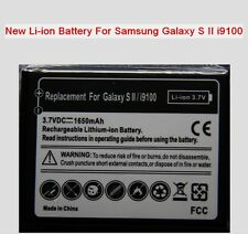 2 New Li-ion Battery For Samsung Galaxy S 2 II i9100