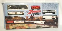 The Zenith Limited HO Scale Model Electric Train Set Toy Collector NEW OPEN