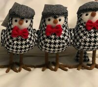 Trim A Home Kmart Holiday Birds Lot Of 3 Christmas Winter 2018 Jaclyn Smith HTF