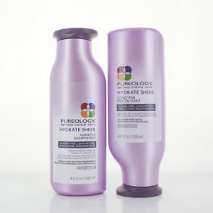 Pureology Hydrate Sheer Shampoo & Conditioner /each 8.5oz/250ml ( free shipping)