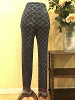 PLEATS PLEASE ISSEI MIYAKE Geometric Pattern Pants size 4 #232