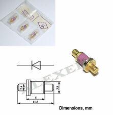 1x 3A703A / DGB8625 Military GaAs Gunn diode 8.24...12.5GHz 100mW