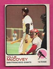 RARE 1973 OPC # 410 GIANTS WILLIE MCCOVEY EX+  CARD (INV# J0296)