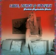 LOVE,PEACE & POETRY-TURKISH PSYCHEDELIC MUSIC  CD NEW