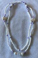 Collar (eleke) de Obatala Obamoro, Santeria, Yoruba, Lucumi