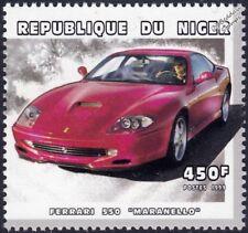 FERRARI 550 MARANELLO (Type F133) Sports Car Stamp (1999 Niger)
