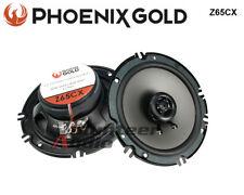 "Phoenix Gold Z65Cx 6.5"" 2 Way Shallow Mount Coaxial Speakers 40W Rms 80W Peak"