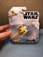 Hot Wheels Star Wars Naboo N-1 Starfighter Starships 2020 GGY73 Disney Die-Cast