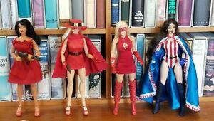 Lot Custom 12 inch 1/6 scale figures Fem-Force Yankee Girl Miss Masque Synn Rita