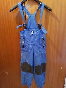 Ski Salopettes - Blue - Size 134 - Rodeo