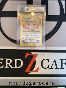 MNT 8.5 Pokemon Clefable Jungle Set 1/64 Holo Card Unlimited Mint