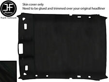 BLACK STITCH LINER ROOF HEADLINING LUXE SUEDE COVER FOR BMW 3 E36 92-98 COUPE