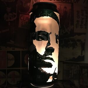 Liam Gallagher Beer Can Lantern! Oasis, Why Me? Why Not, Pop Art, Unique Gift!