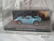 JAMES BOND CARS COLLECTION FORD GT40 DIE ANOTHER DAY