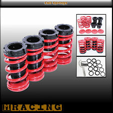 Coilover Lowering Coil Springs Set 1995-1999 Mitsubishi Eclipse RS GS GST Red