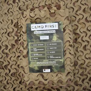 Filet de camouflage Camo First au mètre (désert)