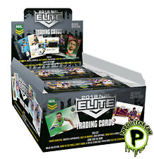 NRL 2018 RUGBY LEAGUE - Elite Trading Cards Factory Sealed Box (24ct) #NEW