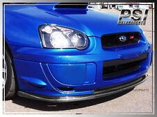 2004-2005 Subaru Impreza WRX STI Style Carbon Fiber Front Bumper Lip GDB Sedan