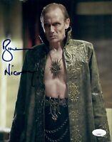 BILL NIGHY Signed 8x10 Photo VIKTOR Underworld In Person Autograph JSA COA Cert