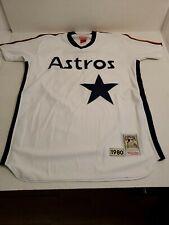Retro Mitchell & Ness Houston Astros Nolan Ryan #34 1980 Baseball Jersey 52 Xxl