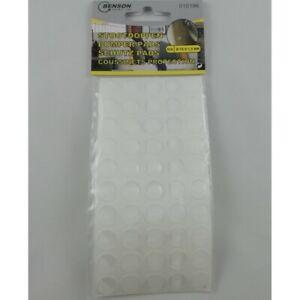50 Coussinets Silicone Adhésifs de Protection Portes de Meuble Mobilier Placard