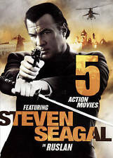 5 Action Movies: Featuring Steven Seagal in Ruslan (DVD, 2016) NEW!