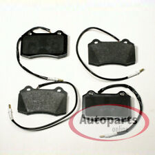 Rear Brake Pads Peugeot 607 2.2 HDI Saloon 9D,9U 00-08 133HP 63.5x57.05x16.5mm