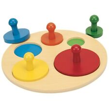 Guidecraft Circle Shape Sorting Puzzle