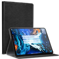 "For iPad 9.7"" ( iPad Air, Air 2) Premium Leather Cover Kickstand Card Slot Case"