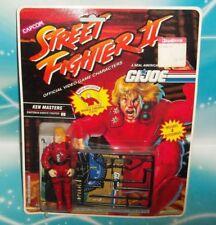 G I GI JOE 1993 STREET FIGHTER SERIES #2 KEN MASTERS FIGURE MOC