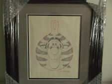 Disney Tigger Drawing Orginial From Winnie the Pooh Production Framed