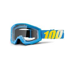 OCCHIALI MASCHERA MOTOCROSS ENDURO 100% STRATA BLUE