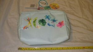 MIP Lesportsac Makani Book Pouch Lauren Roth Hawaii Boutique Exclusive 4225