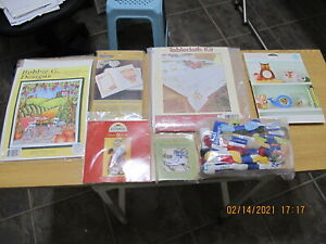 LOT Of  CROSS STITCH PATTERN KITS, ALL BRAND NEW