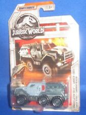 MATCHBOX JURASSIC WORLD (2 OF 18) ARMORED ACTION TRUCK FMX06, NEW