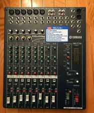 Yamaha MG124C Audio Mixer Model MG-124-C W/PS SN UCCNHO1802 GOOD - FAST SHIPPING