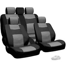 New Semi Custom Leatherette Car Seat Covers Split Seat Set BG For Toyota