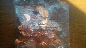 irlande 2006 sachet 100 pièces 1 cent