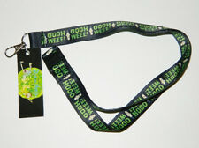 Rick and Morty Animated TV Series Mr Poopybutthole Ooohh Weee Lanyard NEW UNUSED