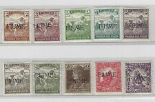 Old stamps Fiume