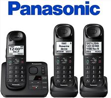 Panasonic KX-TGL433B Expandable Cordless Phone Answering Machine
