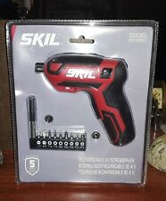 SKIL Rechargeable 4V Cordless Screwdriver - SD561801 - New